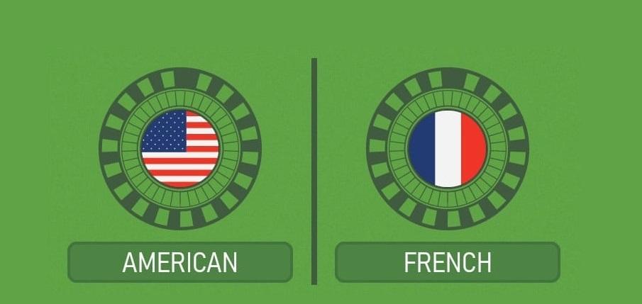 الفارق ما بين الروليت الفرنسي والروليت الامريكي